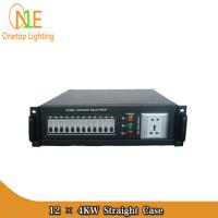 Quality 12CH stage power distribution box/stage equipment 12ch stage power 4KW Straight Box wholesale