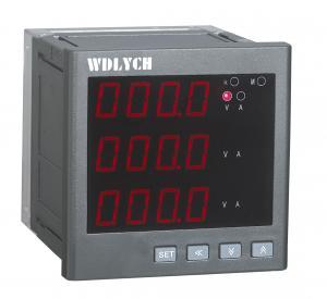 Quality 4-20ma Output Digital Power Meter Enhanced Pc Shell 0-9999 Measuring Range wholesale