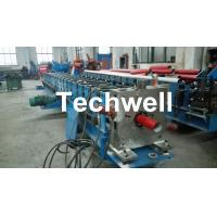 Quality Round / Square Custom Downpipe Roll Forming Machine For Metal Rainspout Profile wholesale