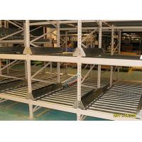 Quality High Density Light Grey Flow Rack Shelving , Industrial Pallet Racks Heavy Duty wholesale