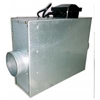 Quality Industrial Square Duct Booster Fan , Inline Duct Fan Quiet For Ventilation wholesale