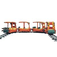 Quality Sightseeing Track Train Rides 1500W For Indoor Children