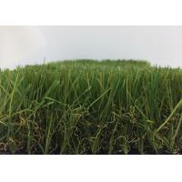 Quality Waterproof Landscaping Artificial Grass 50mm Pile Less Seaming Low Maintenance wholesale