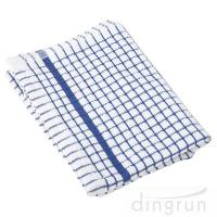 Quality 100% Cotton Kitchen Tea Towels , Azo Free Housework Kitchen Cleaning Cloth 50*70cm wholesale