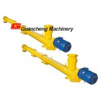 Quality Portable Industrial Screw Conveyor for concrete batching plant ISO / CE / BV wholesale