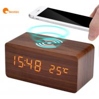 China Compact Design Desktop Charging Station Portable Wireless Phone Charger on sale