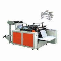 Quality Disposable plastic gloves-making machine, 220V at 50Hz voltage  wholesale