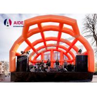 Quality Creative Inflatable Stage Cover, Inflatable Stage Roof For Band Performance wholesale