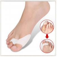 China Bunion Shield Splint Gel Silicone 2-Toe Spacer Prevention Protector on sale
