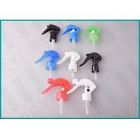 Quality Trigger Plastic Spray Pump 24mm / 28mm Multi Color For Car Maintenance Cleaning wholesale