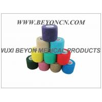 Quality Latex - free Cohesive Hand Elastic Bandage , Self - adhesive Breathable Bandages wholesale