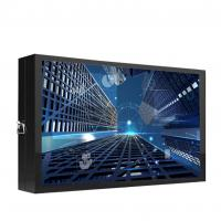 Buy cheap led outdoor wall mount touch screen advertising info kiosk display payment kiosk from wholesalers