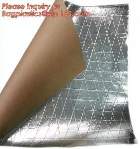 Aluminum Foil-Scrim-Kraft Paper Facing insulation material for building construction,radiant barrier laminated woven clo