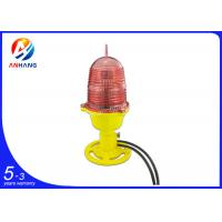 Quality Steady burning red single aviation obstruction light/low intensity LED aircraft warning light/telecom tower light wholesale
