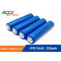 Quality IFR10440 3.2V AAA size lifepo lithium rechargeable battery wholesale