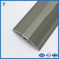 Cheap Gold and Champage Anodized Color Aluminum Extrusion Profiles for Flooring Thicknesses 7-17,5 mm for sale