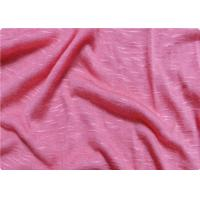 Quality Pink / White Viscose Fabric Furniture Upholstery Fabric For Sportswear wholesale