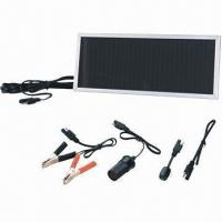 China Portable solar charger/DIY/solar panel/trickle solar charger, 2W peak power on sale