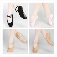 Quality Dttrol leather canvas ballet shoes slippers wholesale
