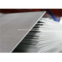 Quality Ti 6Al7Nb medical titanium Sheet With ASTM F 67 And ISO 5832-2 wholesale