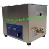 Quality 10L 240w Digital Benchtop Ultrasonic Cleaner / Ultrasound Cleaner Frequency 40KHz wholesale