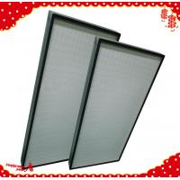 Quality 1220x610x90mm air handling unit system hood hepa filter h13 h14 / best air filter for home wholesale