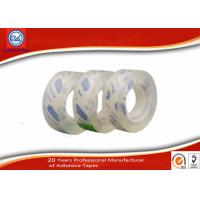Quality 12mm Clear Adhesive BOPP Sticky Stationery Tape For Office & School Use wholesale