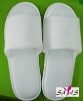Quality Open Toe Mens OEM White Microfiber 42 41 Hotel Airplane Disposable Slipper wholesale