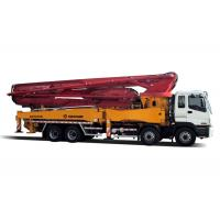 China Commercial Concrete Mixer ISUZU Engine Truck Mounted  42m Distributing Height on sale