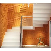 Cheap Removable Bedroom / Bathroom Wall Sticker 3D Decorative Wall Panels Sound for sale