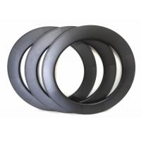 Quality 88 U Shape Carbon Road Bike Rims 700C 25MM Width With 3K And UD Weave wholesale