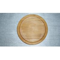 China Bamboo Pizza Plate on sale