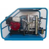 Quality Gas powered scuba reciprocating air compressor filling cylinders at home or in laboratory wholesale