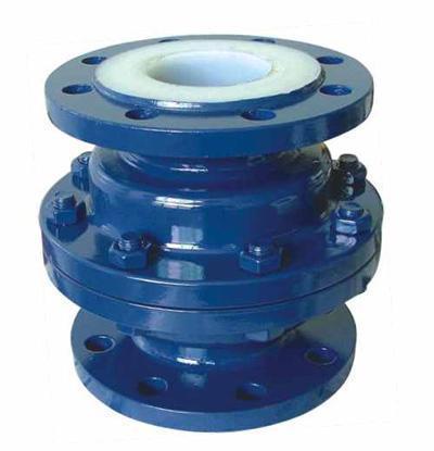 Fluorine check valve H44F46-16C