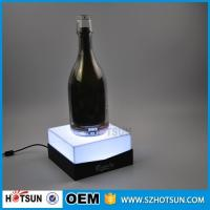 Cheap Custom acrylic e liquid display stand LED e liquid bottle rack for sale