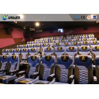 Quality Business Centre 4D Movie Theater Electric Motion Rider Equipment 80 Seats wholesale