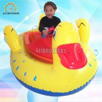 Quality Safety Water Bumper Boats , Inflatable Motorized Bumper Boat For Adults wholesale