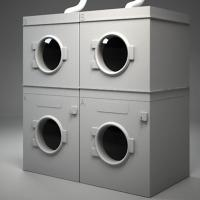 China full automatic industrial laundry machine on sale
