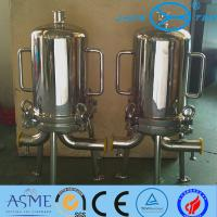 Quality 8R 9R Sanitary Filter Housing For Sugar Syrups Beer Final Filtration wholesale