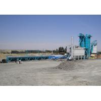 Quality 80T Hot Aggregate Silo Asphalt Plant With 300000 Batches Mixing Blade Life Time wholesale