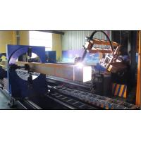 China Round / Square Pipe Cutting And Beveling Machine For Steel Fabrication on sale