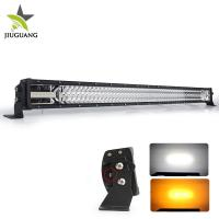 Quality Jeep Wrangle Led Strobe Light Bar Four Modes White And Amber Light Color wholesale