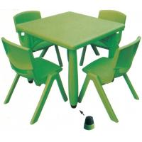 China plastic kids table and chairs preschool furniture table and chairs on sale