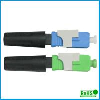 Quality UPC Fiber Optic Patch Cable Connector , Ceramic Optical Cable Connector wholesale