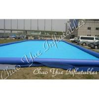 Quality Blue Outdoor Inflatable Pool IP17 0.6mm / 0.9mm For Entertainment Center(CYPL-1506) wholesale