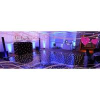 Quality 2ftx4ft easy to move used led dance floor for sale white led dance floor portable dance floors for sale wholesale