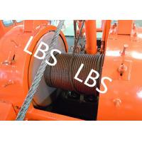 Quality Oil Drilling Equipment Offshore Winch Tractor Hoist Winch / Well Servicing Unit Winch wholesale