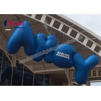Quality Advertisement Inflatable Words Blow Up Advertising , Hanging Party Decorations wholesale
