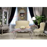 Quality Nice Design for Neoclassical Leisure Sofa set by Wooden Carving Frame and Fabric wholesale
