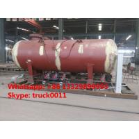Quality 6MT skid mounted lpg propane gas refilling plant for filling gas cylinders for sale, mobile skid lpg gas refilling plant wholesale